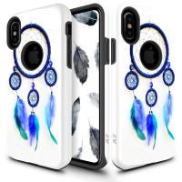 Zizo Sleek Hybrid Design Cover - Etui iPhone X (Dream Catcher)