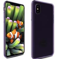 Zizo TPU Cover - Etui iPhone X (Purple)