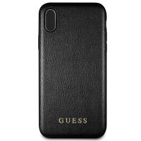 Guess Iridescent - Etui iPhone Xs / X (czarny)