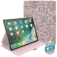 "Speck Balance Folio Print - Etui iPad Pro 10.5"" (2017) w/Magnet & Stand up (Lillymodern Rose Gold/Crepe Pink/Cathedral Green)"