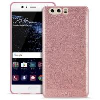 PURO Glitter Shine Cover - Etui Huawei P10 (Rose Gold)