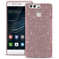 PURO Glitter Shine Cover - Etui Huawei P9 (Rose Gold)