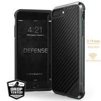 X-Doria Defense Lux - Etui aluminiowe iPhone 8 Plus / 7 Plus (Black Carbon Fiber)