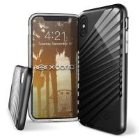 X-Doria Revel Lux - Etui iPhone X (Black Rays)