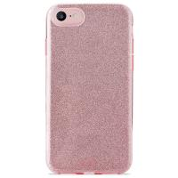 PURO Glitter Shine Cover - Etui iPhone 8 / 7 / 6s / 6 (Rose Gold)