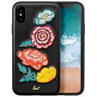 Laut POP BOUQUET - Etui iPhone Xs / X z 2 foliami na ekran w zestawie (Bouquet)