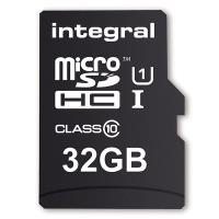 Integral Smartphone and Tablet - Karta pamięci 32GB microSDHC/XC 90MB/s Class 10 UHS-I U1