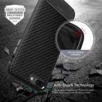 Obliq Flex Pro - Etui iPhone 8 Plus / 7 Plus (Carbon Black)