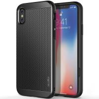 Obliq Slim Meta - Etui iPhone X (Titanium Black)