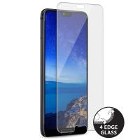 PURO Premium Full Edge Tempered Glass Case Friendly - Szkło ochronne hartowane na ekran Huawei P20