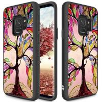 Zizo Sleek Hybrid Design Cover - Etui Samsung Galaxy S9 (Colorful Tree)