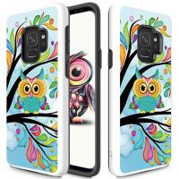 Zizo Sleek Hybrid Design Cover - Etui Samsung Galaxy S9 (Owl)