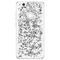PURO Glam Ice Light Cover - Etui Huawei P20 Lite z metalicznymi elementami srebra