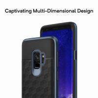 Caseology Parallax Case - Etui Samsung Galaxy S9 (Black/Deepblue)