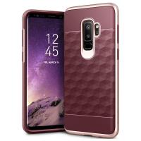 Caseology Parallax Case - Etui Samsung Galaxy S9+ (Burgundy/Rose Gold)
