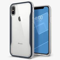 Caseology Coastline Case - Etui iPhone Xs / X (Deep Blue)