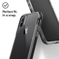 Caseology Skyfall Case - Etui iPhone Xs / X (Black)
