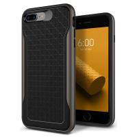 Caseology Apex Case - Etui iPhone 8 Plus / 7 Plus (Black/Warm Gray)