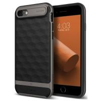 Caseology Parallax Case - Etui iPhone 8 / 7 (Black/Warm Gray)