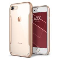 Caseology Apex Clear Case - Etui iPhone 8 / 7 (Gold)