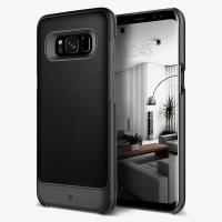 Caseology Fairmont Case - Etui Samsung Galaxy S8+ (Black)