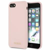 Guess Silicone - Etui iPhone 8 / 7 (Light Pink)