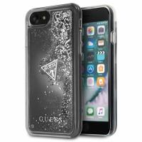 Guess Liquid Glitter - Etui iPhone 8 / 7 (srebrny)