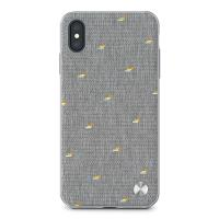 Moshi Vesta - Etui iPhone Xs Max (Pebble Gray)