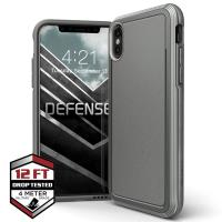 X-Doria Defense Ultra - Pancerne etui iPhone Xs / X (Drop test 4m) (Grey)