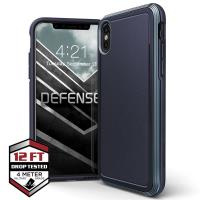 X-Doria Defense Ultra - Pancerne etui iPhone Xs / X (Drop test 4m) (Midnight Blue)
