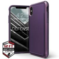 X-Doria Defense Ultra - Pancerne etui iPhone Xs / X (Drop test 4m) (Purple)