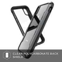 X-Doria Defense Shield - Etui aluminiowe iPhone XR (Drop test 3m) (Black)