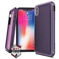 X-Doria Defense Ultra - Pancerne etui iPhone Xs Max (Drop test 4m) (Purple)