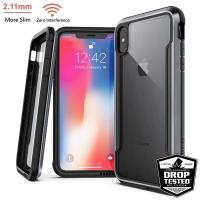 X-Doria Defense Shield - Etui aluminiowe iPhone Xs Max (Drop test 3m) (Black)