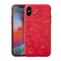 Laut FLORA - Etui iPhone Xs Max (Cherry)