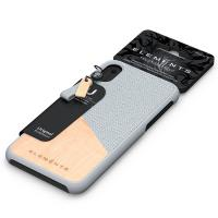 Nordic Elements Original Hel - Drewniane etui iPhone XR (Light Grey)