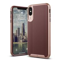 Caseology Wavelength Case - Etui iPhone Xs Max (Burgundy)
