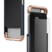 Caseology Savoy Case - Etui iPhone Xs / X (Navy)