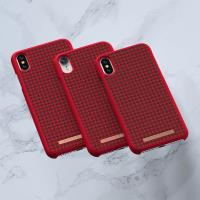 Nordic Elements Saeson Idun - Materiałowe etui iPhone XR (Red)