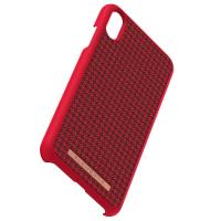 Nordic Elements Saeson Idun - Materiałowe etui iPhone Xs Max (Red)