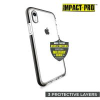 PURO Impact Pro Flex Shield - Etui iPhone XR (czarny)
