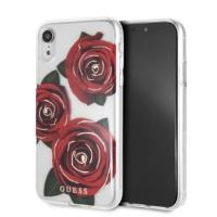 Guess Flower Desire - Etui iPhone XR (Red Roses)