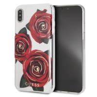 Guess Flower Desire - Etui iPhone Xs Max (Red Roses)