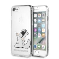 Karl Lagerfeld Choupette Fun - Etui iPhone 8 / 7 (Transparent)