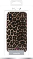 PURO Glam Leopard Cover - Etui iPhone Xs / X (Leo 2) Limited edition