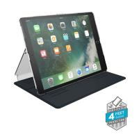 "Speck Balance Folio Clear - Etui iPad 9.7"" (2018/2017) / iPad Pro 9.7"" / iPad Air 2 / iPad Air w/Magnet & Stand up (Clear/Black)"