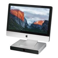Just Mobile Drawer - Aluminiowa podstawka i organizer dla iMac / Cinema Display / MacBook Pro