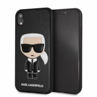 Karl Lagerfeld Iconic Karl Embossed Fullbody - Etui iPhone XR (Black)