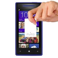 PURO Dwie folie na ekran - HTC WINDOWS PHONE 8S