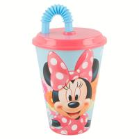 Minnie Mouse - Kubek ze słomką 430 ml
